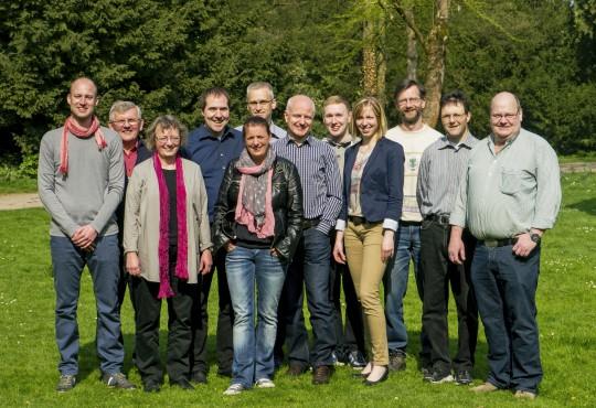 Gruppenfoto der Willicher GRÜNEN; Foto: Till Matthis Maessen