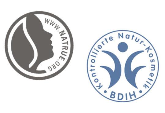 Die Siegel Natrue und BDIH