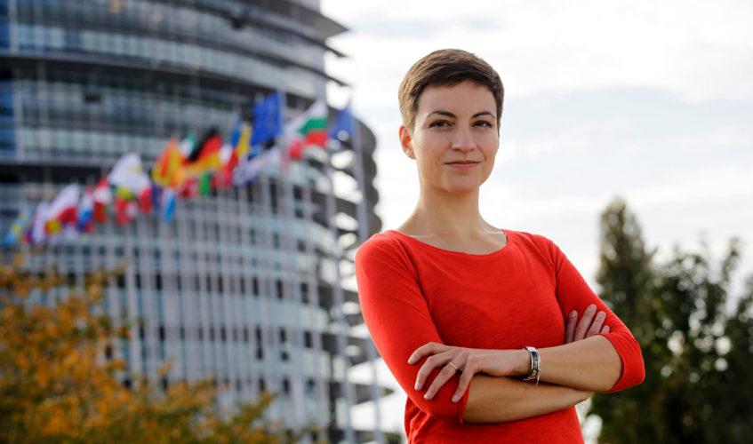 Ska Keller; Foto: European Green Party