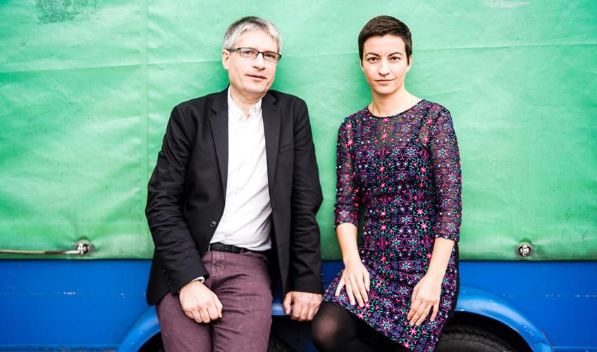 Spitzenduo der GRÜNEN: Sven Giegold und Ska Keller Foto: Dominik Butzmann