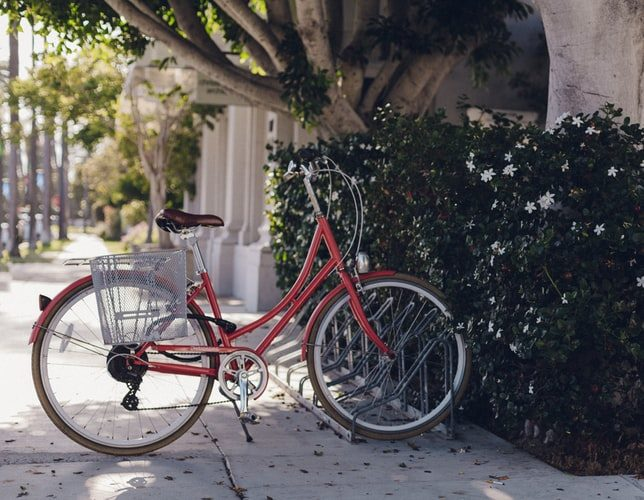 Beispielbild Fahrrad (Foto: Dakota Corbin)